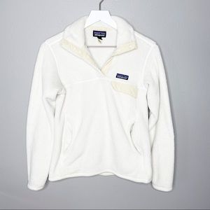 Patagonia Cream Pullover Jacket